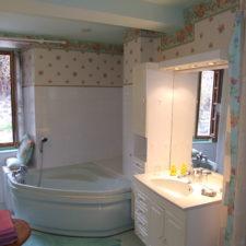 Suite L'estive, salle de bain - Le Belvédère, Ascou