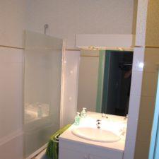 Suite L'Orée, salle de bain - Le Belvédère, Ascou