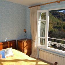 Chambre L'Azur- Le Belvédère, Ascou